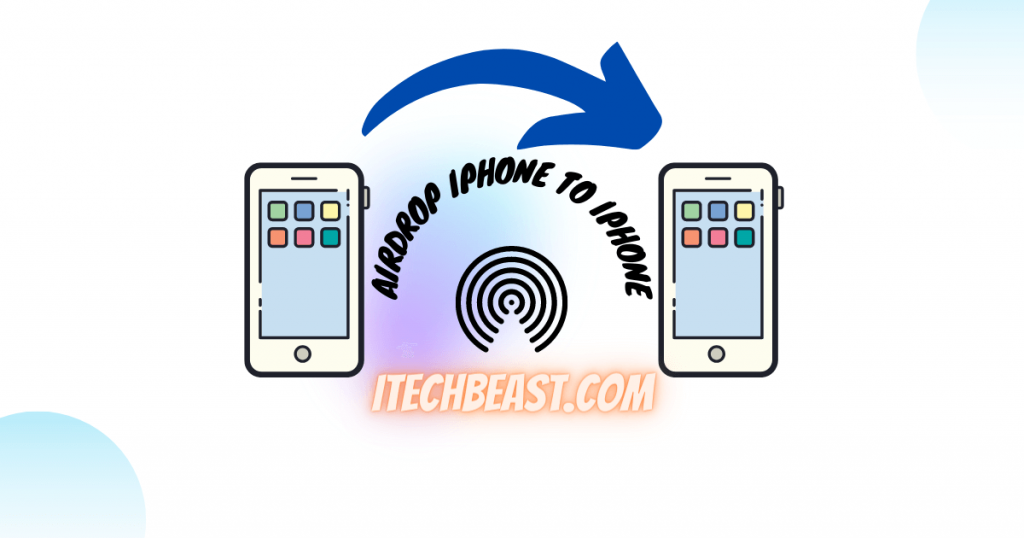 how to use airdrop? iPhone to iPhone