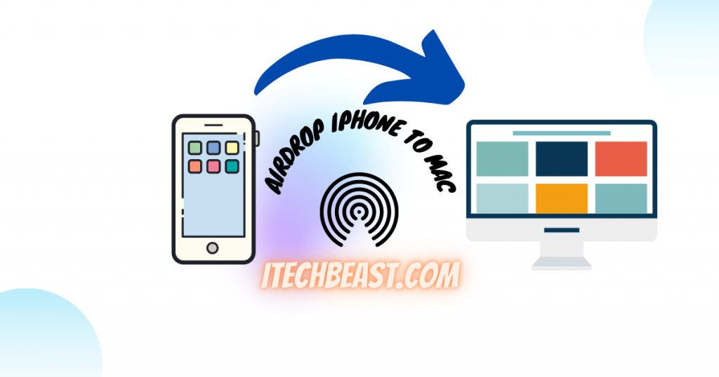 Airdrop from iPhone to Macbook and vice versa