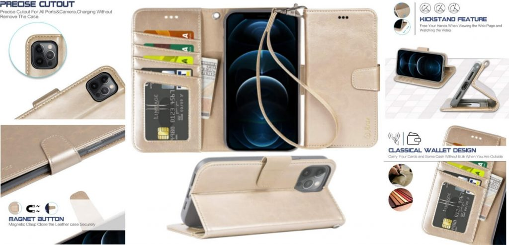 iPhone 12 Pro Max Case with Card Holder